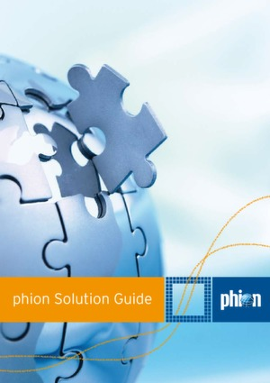 phion Solution Guide