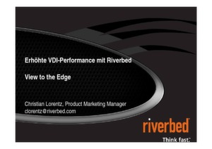 Erhöhte VDI-Performance mit Riverbed