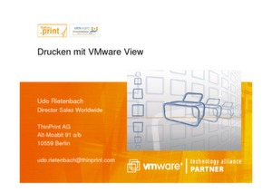Drucken in virtualisierten IT-Architekturen