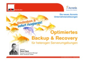 Acronis Backup & Data Recovery Lösungen