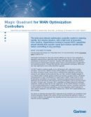 Magic Quadrant for WAN Optimization Controllers