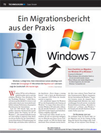 Effektive Migration auf Windows 7 in der Praxis