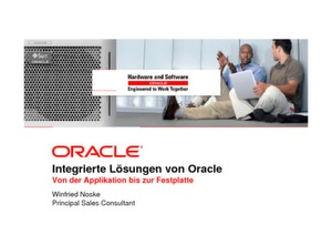 Application-To-Disk-Lösungen von Oracle