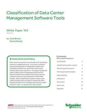 Management Software Tools