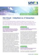 Cloud-Computing – Mythos vs. Realität