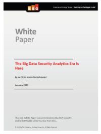 The Big Data Security Analytics Era Is Here
