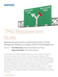 TMG Replacement Guide