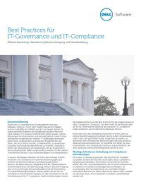 Best Practices für IT-Governance und IT-Compliance