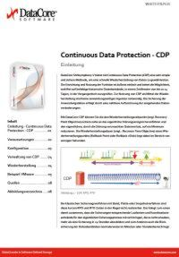 Continuous Data Protection