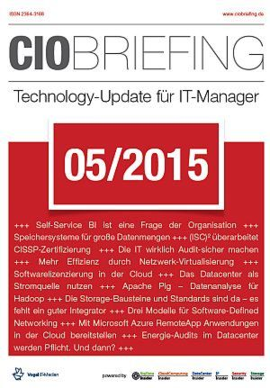 CIO Briefing 05/2015