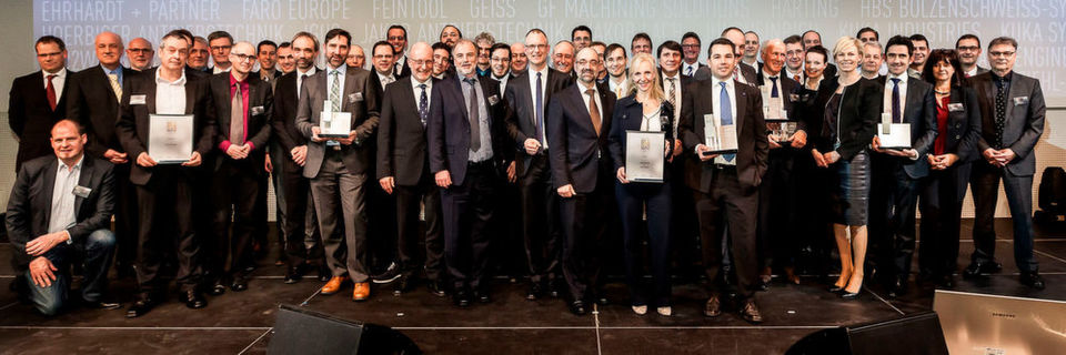 Die Gewinner des Best of Industry Awards 2016.