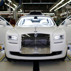 Rolls-Royce Ghost in der Fertigung