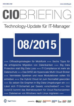 CIO Briefing 08/2015