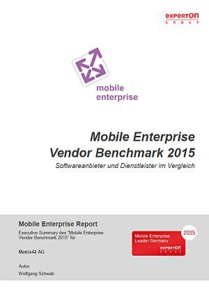 Mobile Enterprise Vendor Benchmark 2015