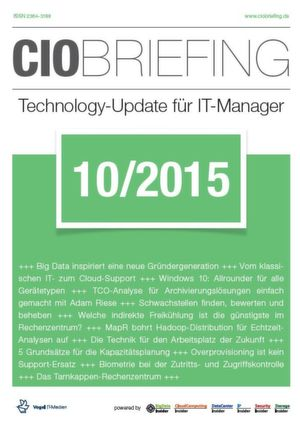 CIO Briefing 10/2015