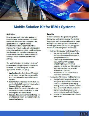 Mobile Solution Kit für IBM z Systems