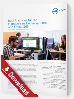 Migration zu Exchange 2016 und Office 365