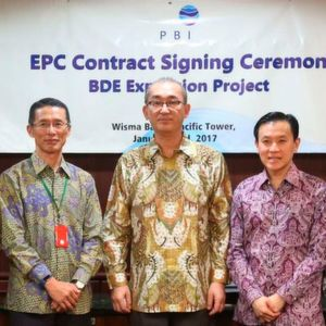 EPC contract signing ceremony
