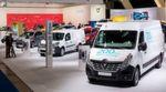 Der Renault-Messestand in Brüssel: Elektromobilität in allen Klassen.