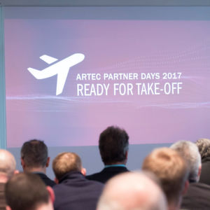 Ready for Take-Off bei den Artec Partner Days