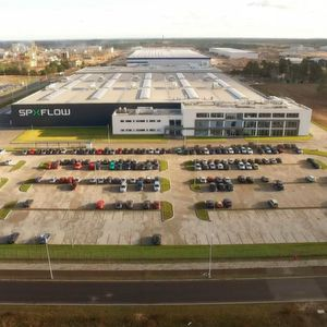 SPX Flow has recently expanded production capabilities by opening a new manufacturing campus in Europe.
