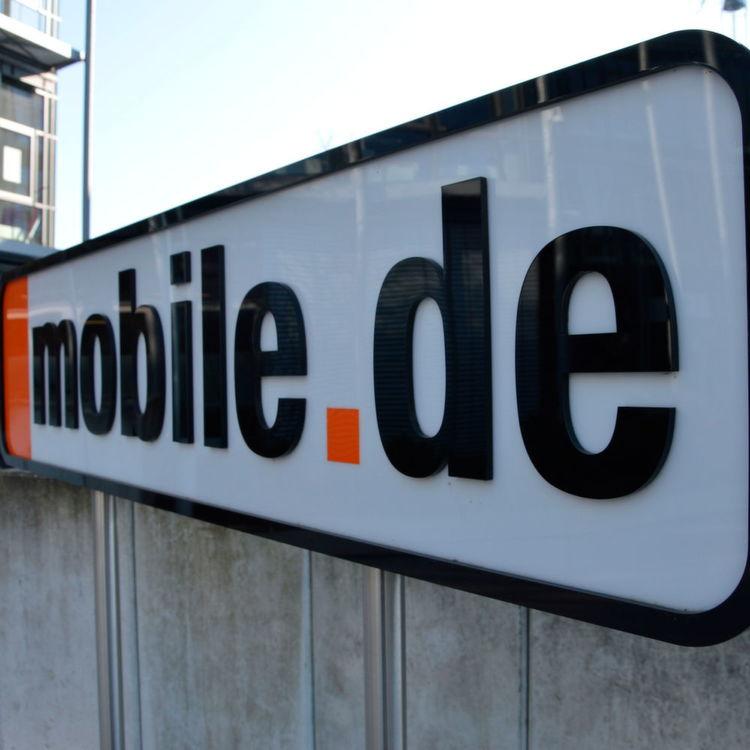 Mobilede Baut Neuwagenbereich Um
