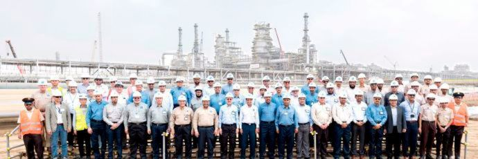 Saudi Aramco Reports Progress of Jazan Refinery Project