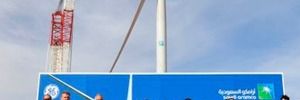 Saudi Arabia: Commissioning of First Wind Turbine