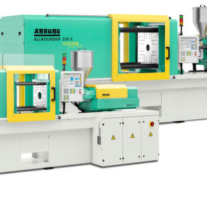 The Allrounder Golden Electric is available in four machine sizes with clamping forces from 600 to 2,000 kN.
