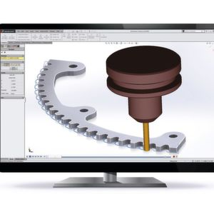Additional function package for machining software