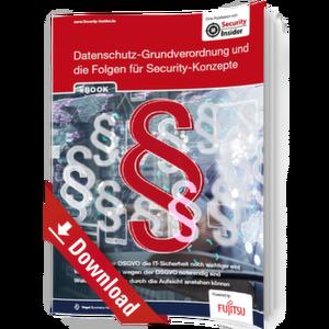 eBook: DSGVO und die Folgen für Security-Konzepte