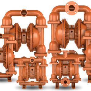 "Providing increased performance with no repiping necessary, Advanced FIT pumps precisely ""FIT"" bolt-to-bolt and pipe-to-pipe in existing fluid-handling piping systems that utilize competitor pumps or Wilden Original or Advanced pump models."