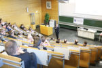 Lecture hall at Schmalkalden University.