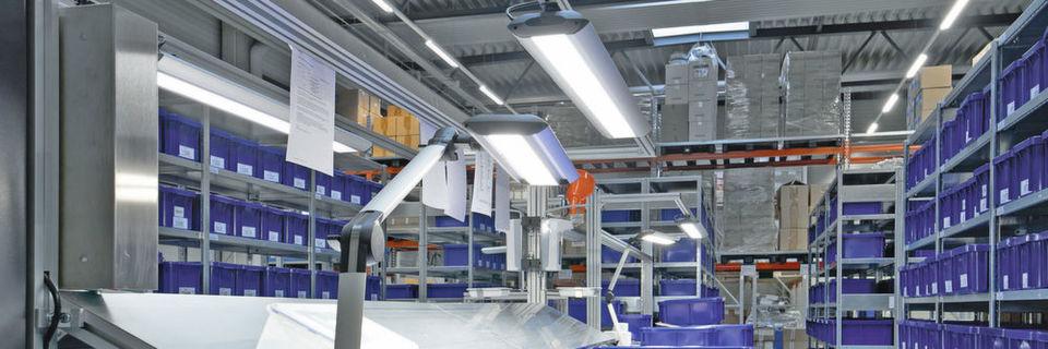 LED-Beleuchtung in der Industrie