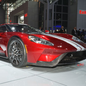 PS-starke Boliden wie der Ford GT haben bei der New York International Motor Show Oberwasser.