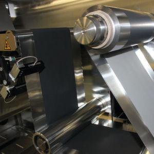 Herstellung der Bipolar-Elektrode im Technikums-Maßstab.