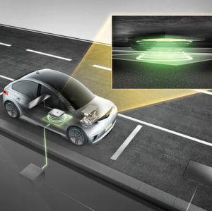 Continental stellt automatisierte induktive Ladelösung vor