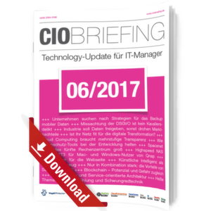 CIO Briefing 06/2017