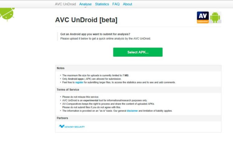 online virenscanner android