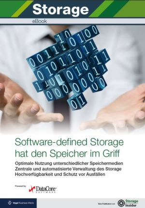 Software-defined Storage hat den Speicher im Griff