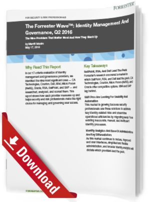 Identity Management And Governance, Q2 2016