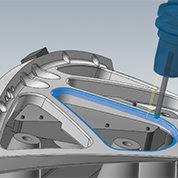 Mastercam's latest release has integrated Sandvik Coromant's Coro-Plus tool library.