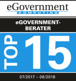 Die Top 15 eGovernment-Berater 07/2017 - 06/2018