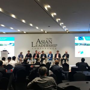 The 8th Asian Leadership Conference, held on 3 July.