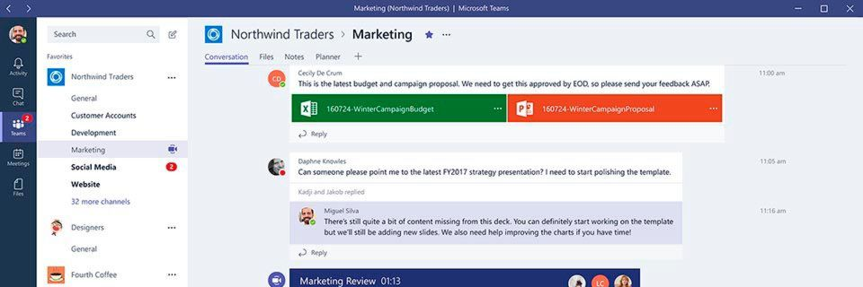Microsoft Teams ist ein chatbasiertes, in Office 365 integriertes Collaboration-Tool.