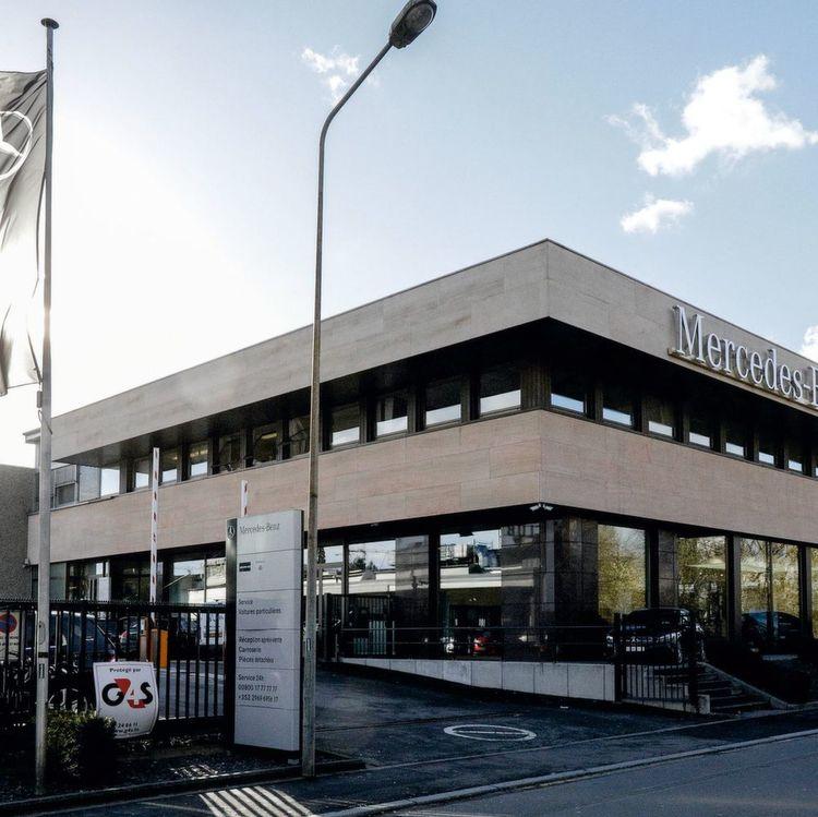 schweizer kaufen daimler-niederlassung in luxemburg