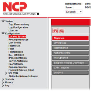 NCP zeigt Secure Enterprise VPN Server 11