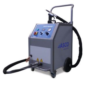 Sensitive tool cleaning with Asco's dry ice blasting machine