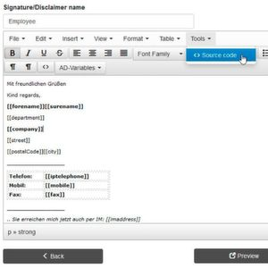 E-Mail-Signaturen per Active Directory pflegen