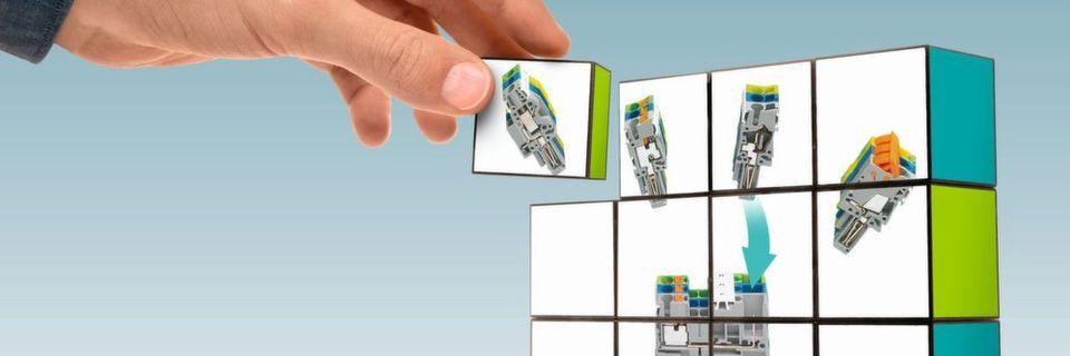 Steckbare Reihenklemmen sorgen für mehr Modularität im Schaltschrankbau
